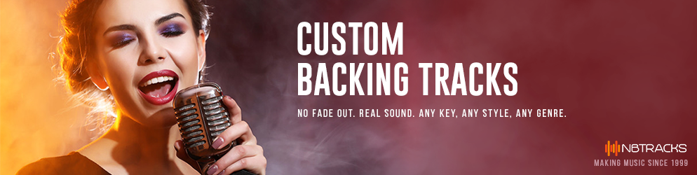 custom backing tracks